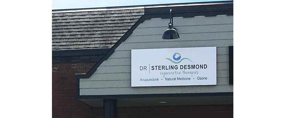 Dr Desmond acupuncture Comox